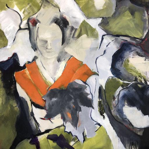Acryl auf Leinwand, 2019, 100 x 100 cm