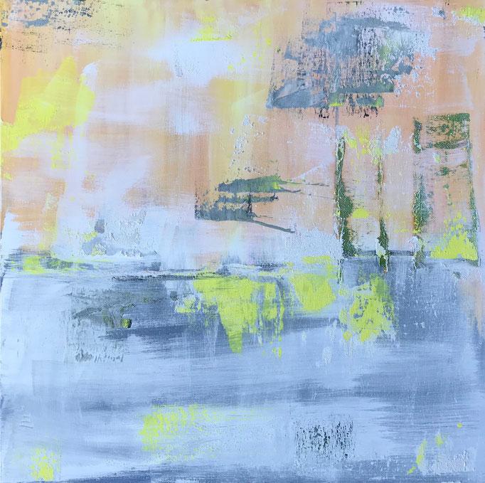abstract, Mischtechnik, 100 x 100 cm