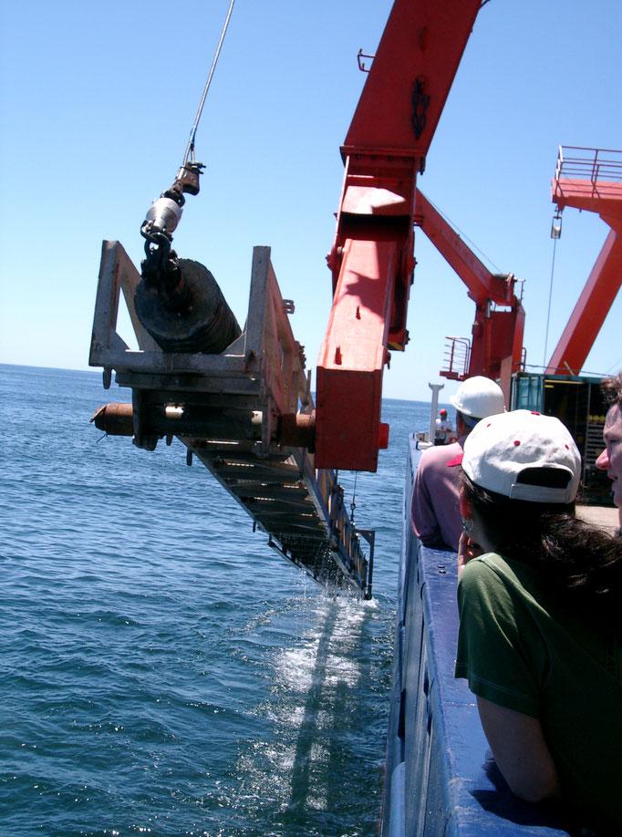 03.03 Forschungsschiff Meteor vor Südafrika (Foto: Christine Franke)