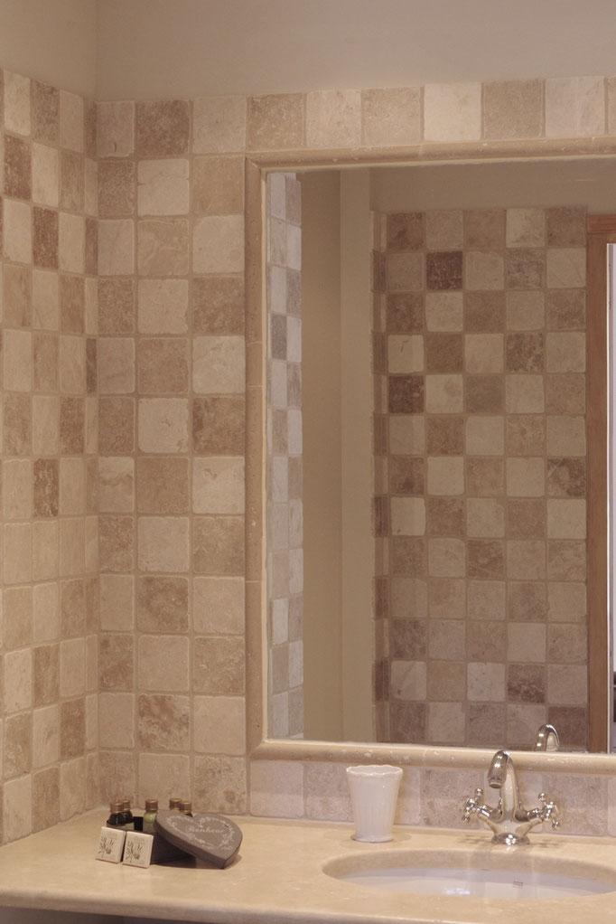 Chambre côté parc, la salle de bain