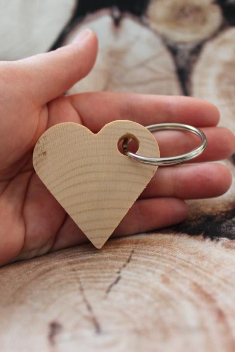Schlüsselanhänger Zirbenholz