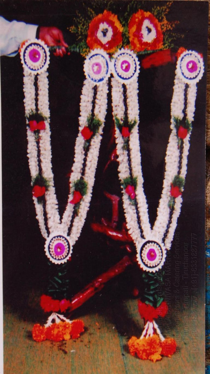 tirumala marriage contractor - garlands 08