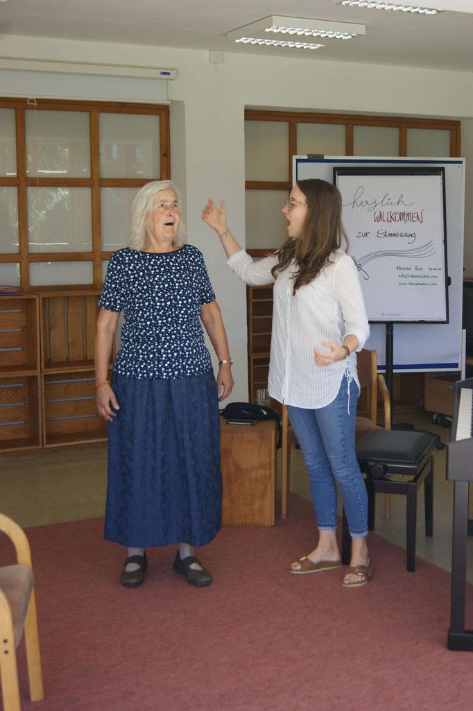 Bilder von der Studienwoche für Kirchenmusik 2019 in Mariatrost