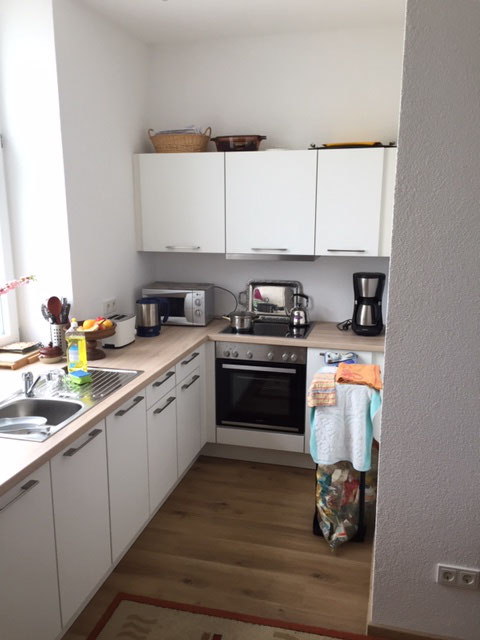 Softmatt-Weiß Küche