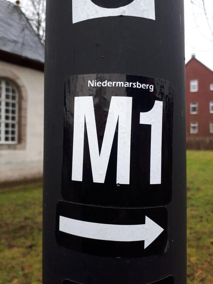 Markierung M1