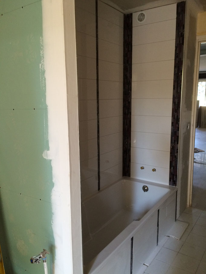 Transformation d'un coin cuisine en salle de bain