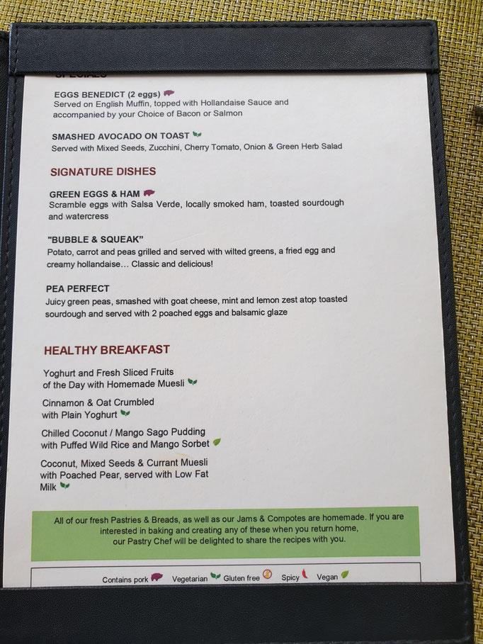 Seminyak Beach Resort Frühstück