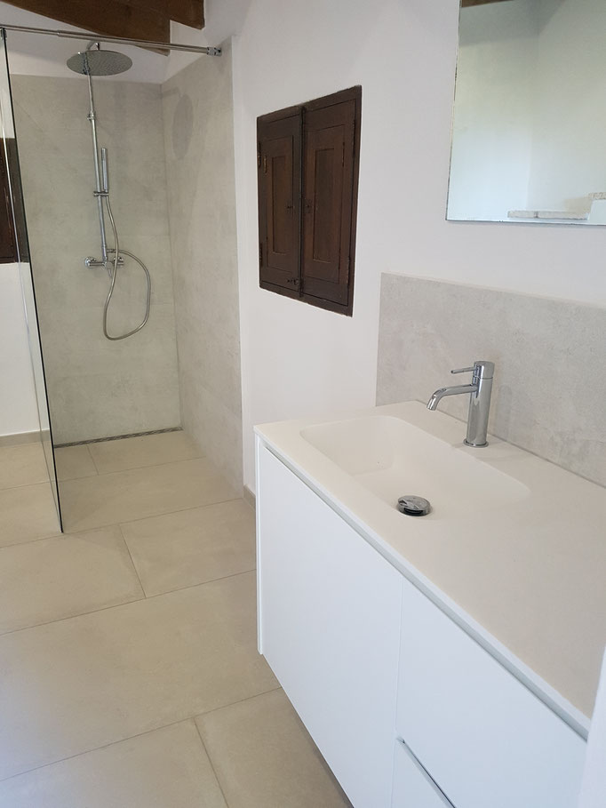 Badezimmer Sanierung Mallorca