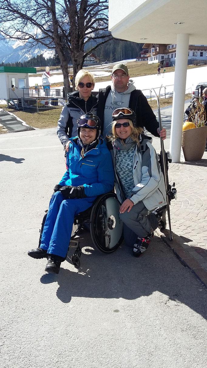 Kerstin,Roland, Mama und ich