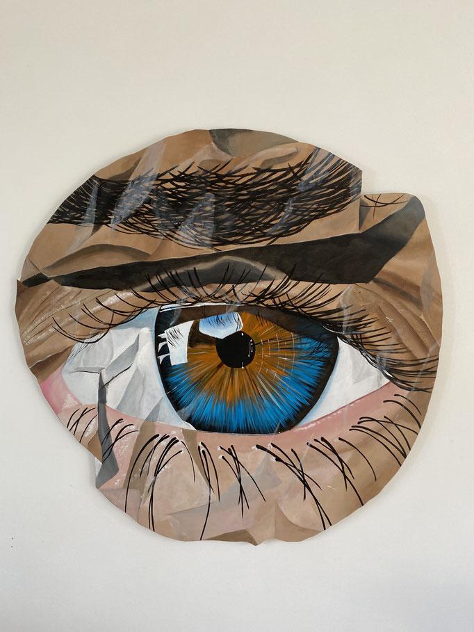 Eye - Acrylic on Wood