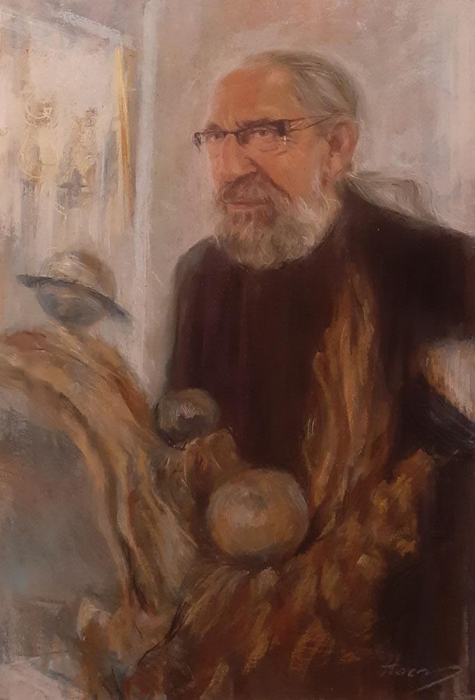 Sculpteur Jacques BÉNA 50x70