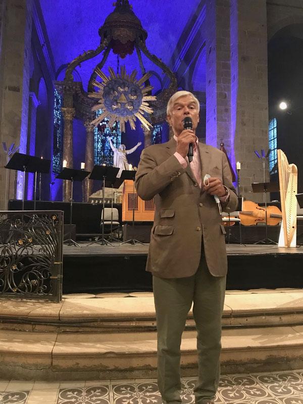 Philippe Toussaint l'organisateur du Septembre Musical (dans sa 38ème édition !)