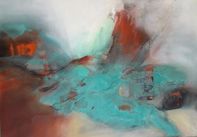 77 Acryl auf Leinwand 100 x 140 cm