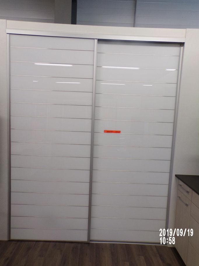 Placard coulissant 2 vtx sérigraphié blanc, - 40% 1050 € HT