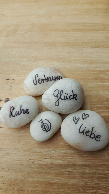 Steine Liebe Glück Ruhe