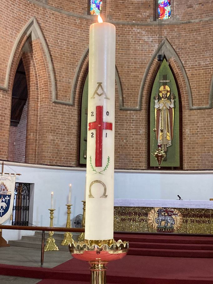 Paschal candle 2021