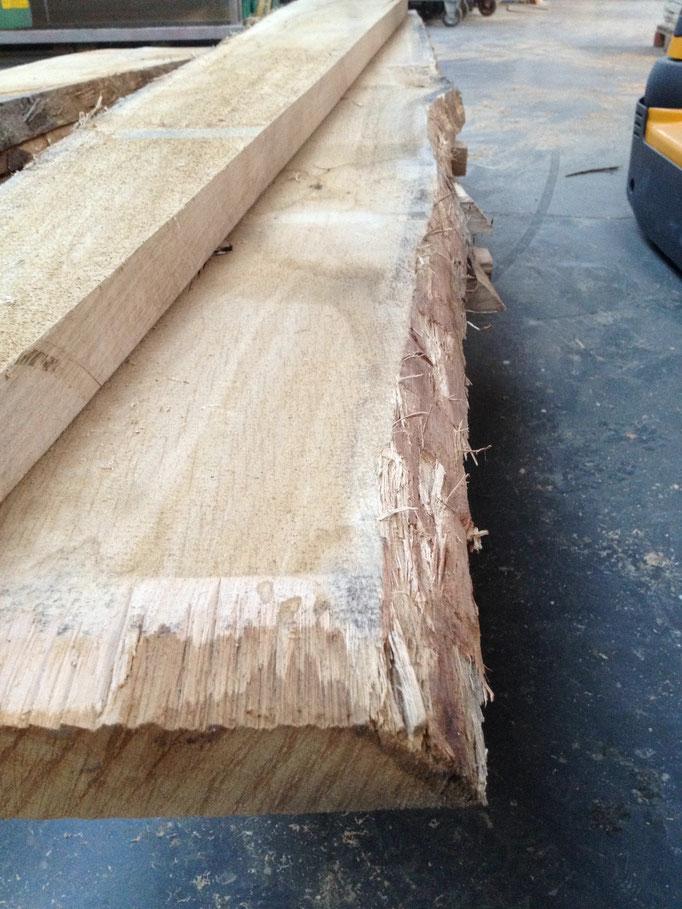 Massivholz Eiche Baumkante Schweizerkante