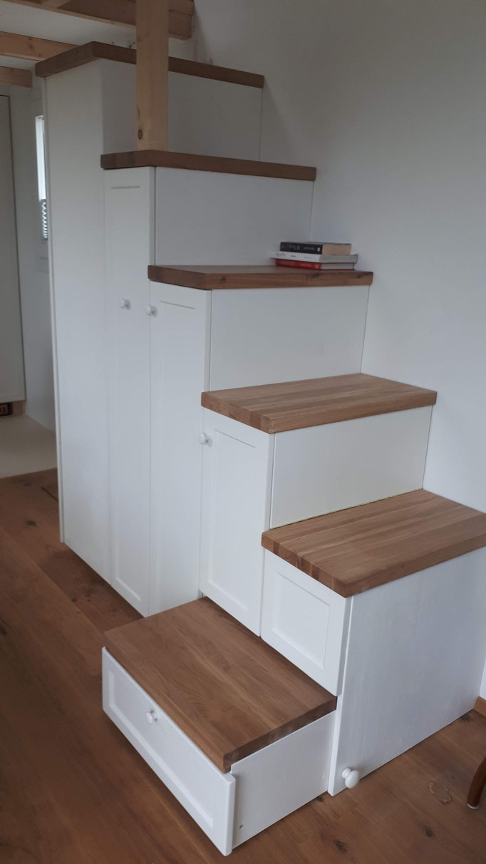 Treppe in TinyHouse
