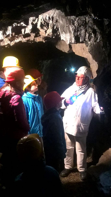 Staunend im Bergbau