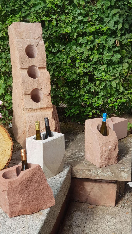 Weinkühler aus Sandstein