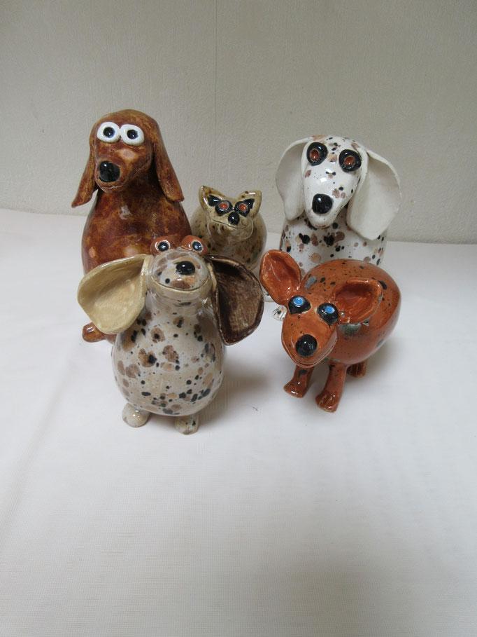 Diverse hondjes