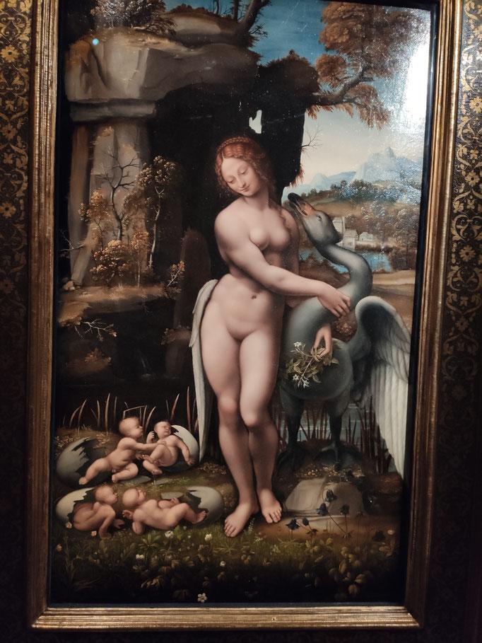 Léda (Atelier de Léonard - 1505-1510)