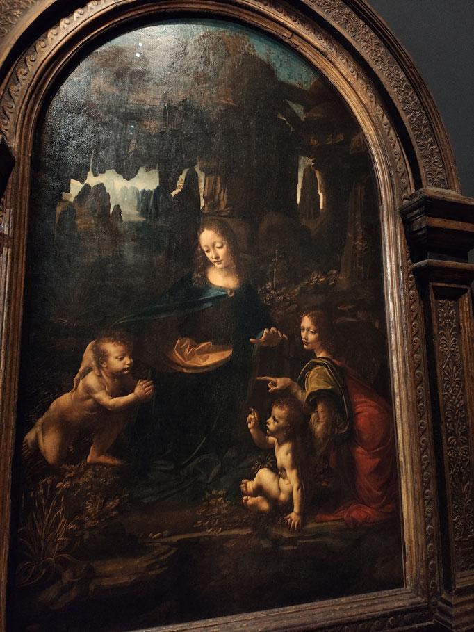 La vierge aux rochers (1483-1486)
