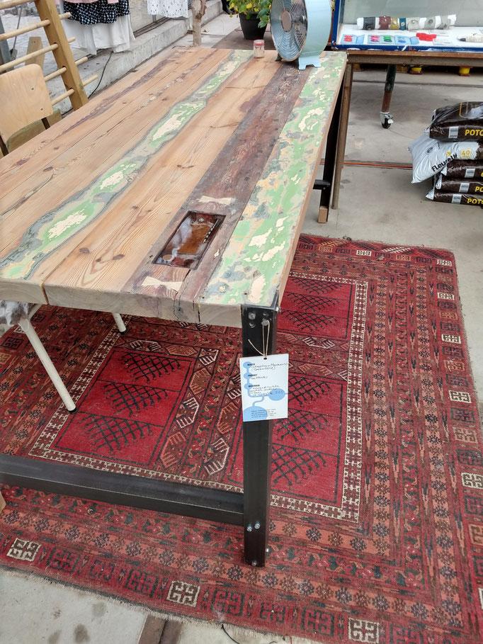 oude balkentafel grenen Haarlem meubels