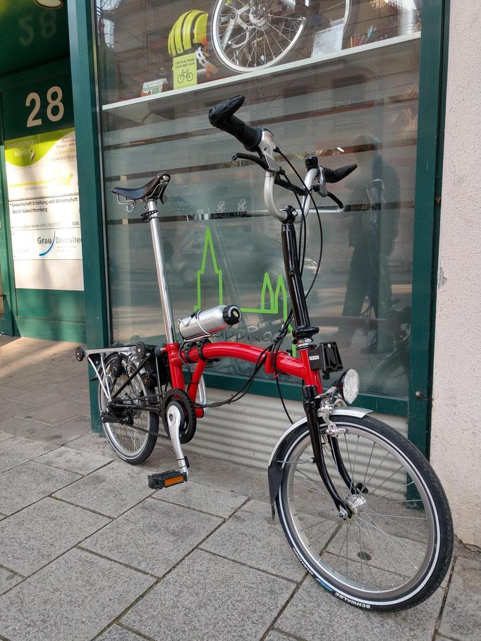 Fahrrad Ulm - Klapprad Ulm - TYRELL - AHOOGA - BROMPTON - TERN - VELLO - Reparatur Zweirad Werkstatt - BOSCH - BAFANG - ZEHEUS