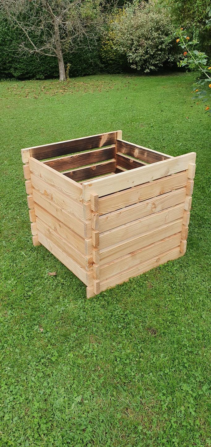 Komposter aus Lärchenholz