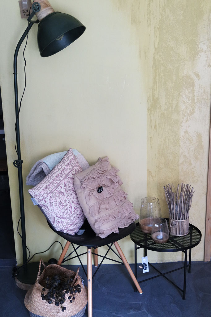 Kreidefarbe Wand