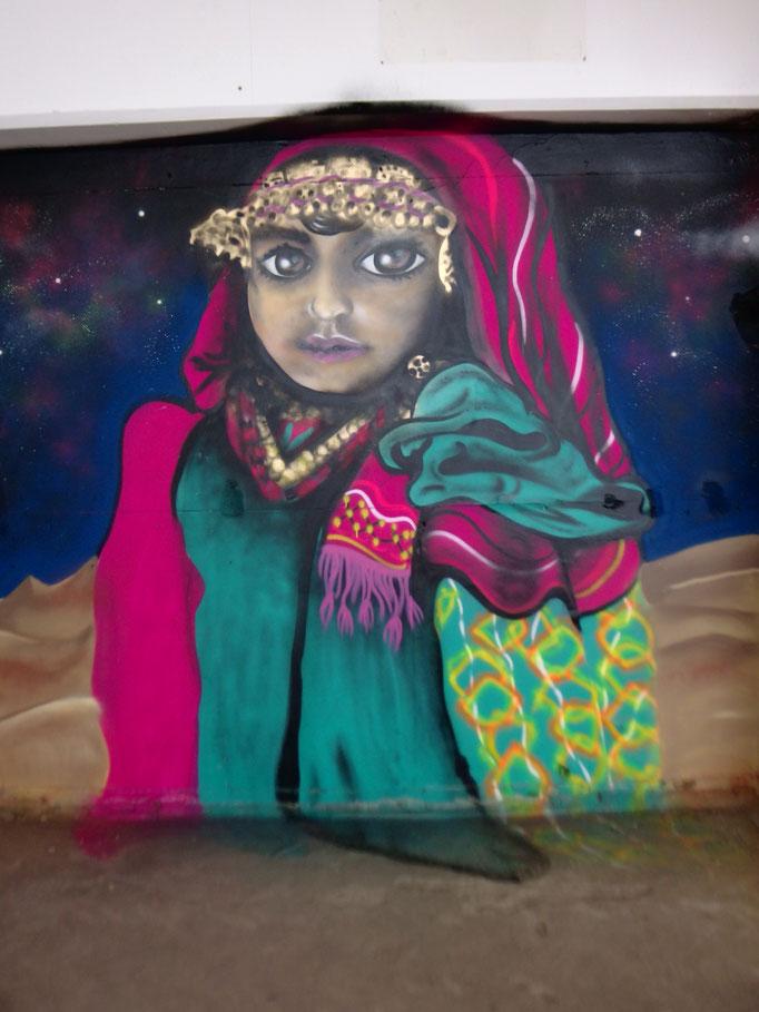 Eqyptian Girl, Soho, 2016