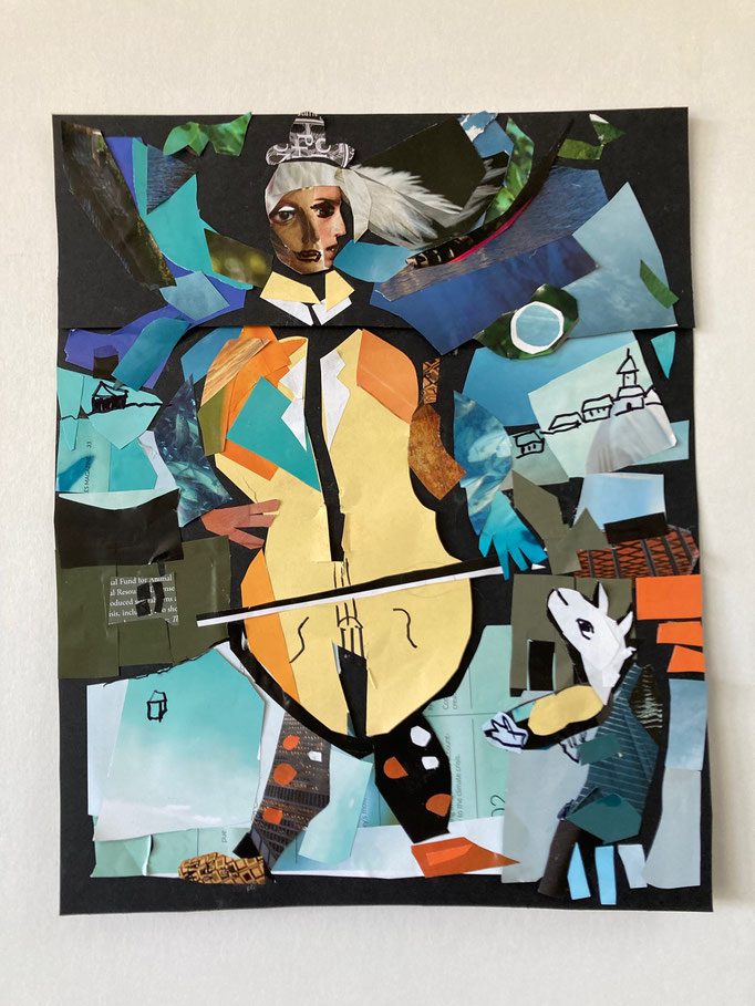 Collage by Vivian Felsen