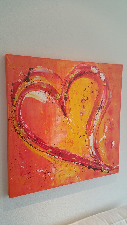 Big Love 80 x 80 cm