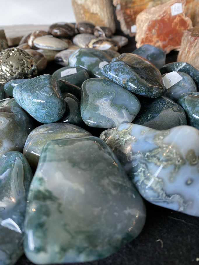 Agate Mousse - Nimalaé - Lithothérapie et boutique de pierres et cristaux