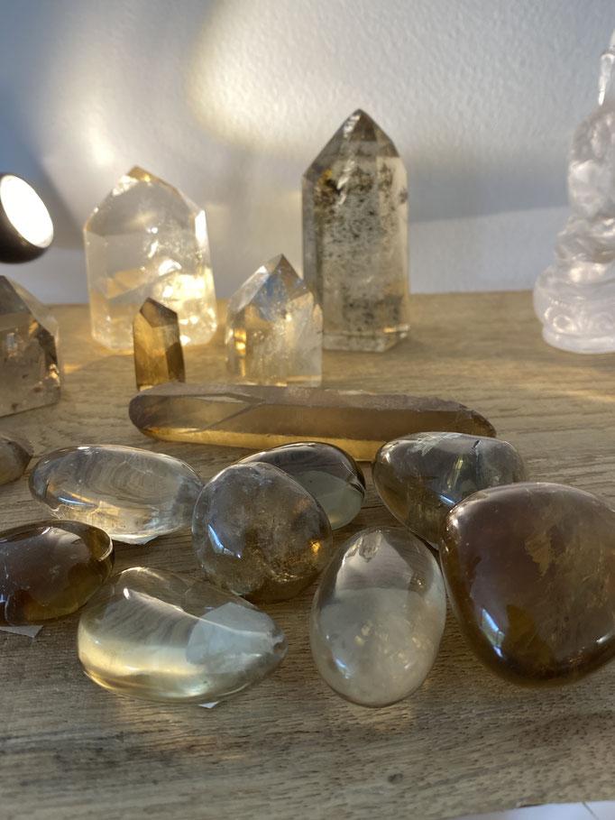 Citrine - Nimalaé - Lithothérapie et boutique de pierres et cristaux