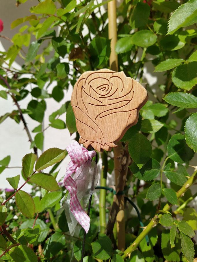 Blumenstecker Rose