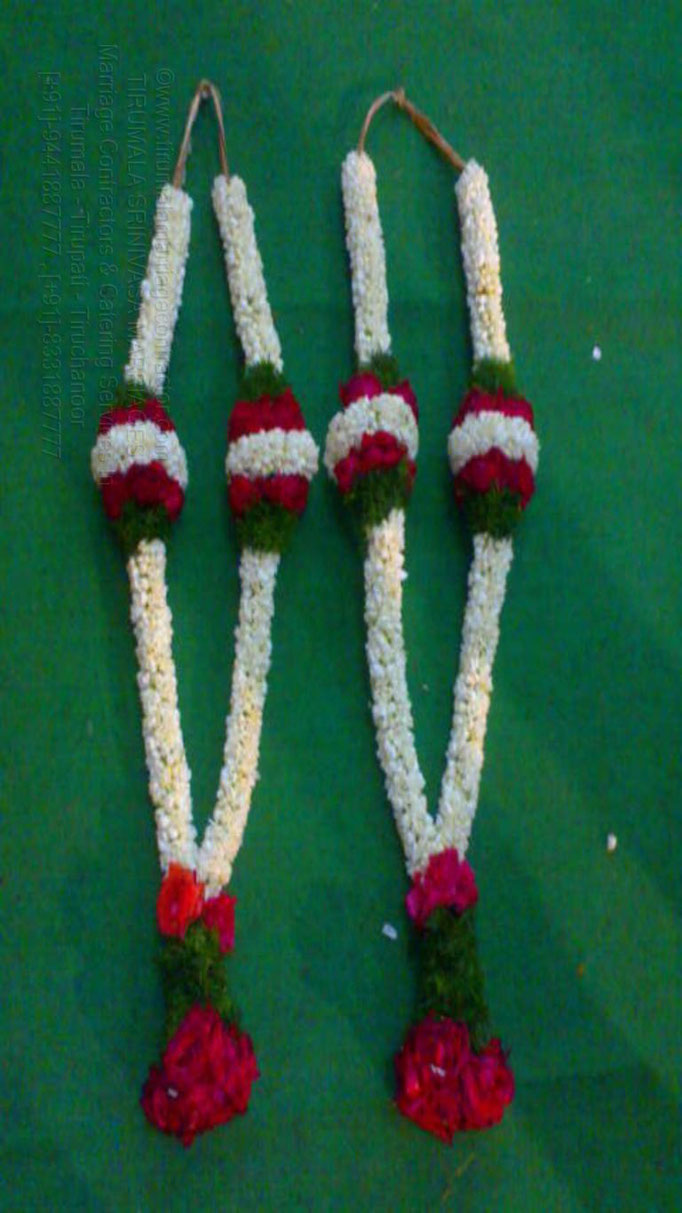 tirumala marriage contractor - garlands 28