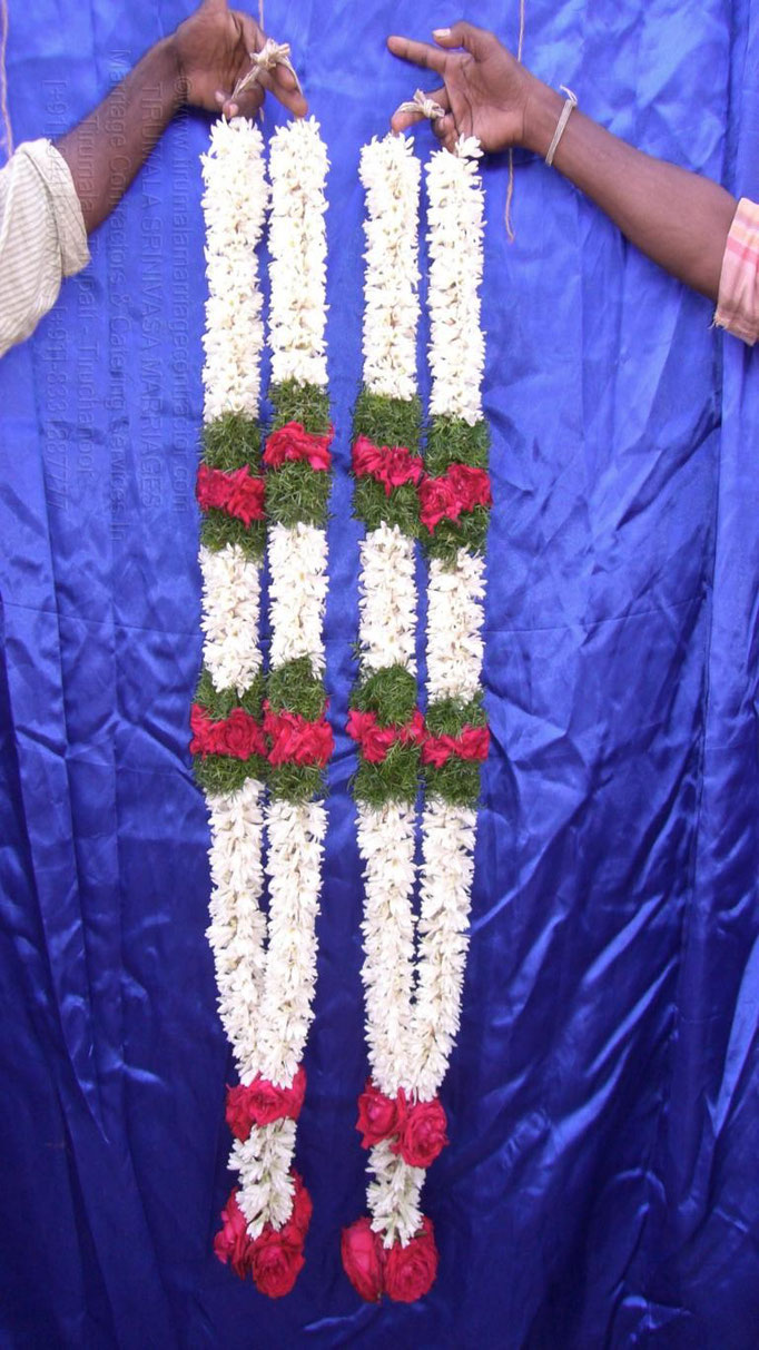 tirumala marriage contractor - garlands 11