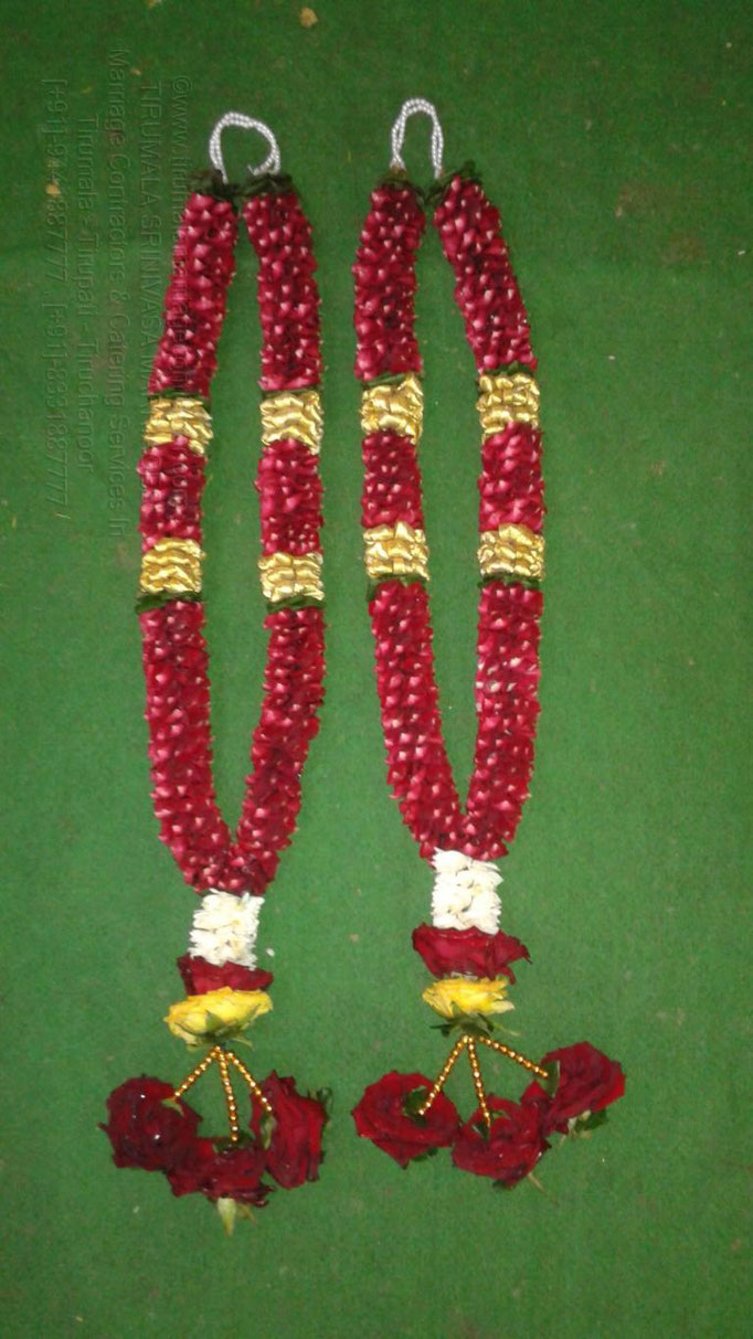 tirumala marriage contractor - garlands 19