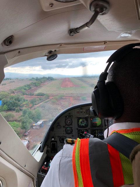Landebahn Nähe Mugumu
