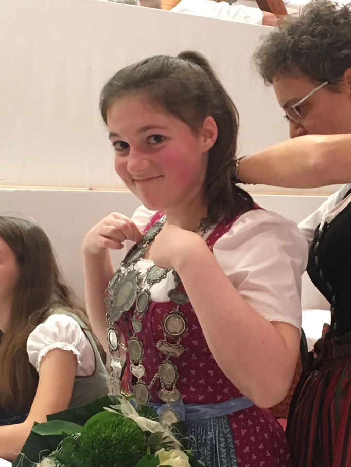 Agnes Schmidtner die neue Gaujugendkönigin