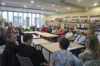 Mai 2016 - Premier café philo en partenariat avec la Médiathèque l'Ile aux livres.