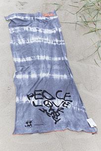 BATIK Schal LOVE PEACE HARMONY