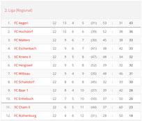 Saison 2008/09 - 2. Liga Regional