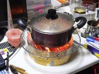 ご飯を炊く