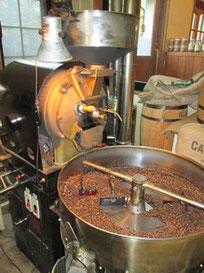 多治見で自家焙煎コーヒーといえば「珈琲工房 豆家」の焙煎機