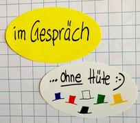 Beispiele Six Thinking Hats | im Gespräch | ohne Hüte :-)