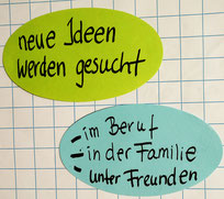 Beispiele Six Thinking Hats | neue Ideen gesucht | im Beruf | in der Familie | unter Freunden