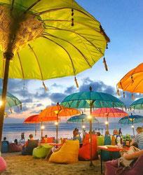 Handgemaakte Boho Bali Parasols uit Bali